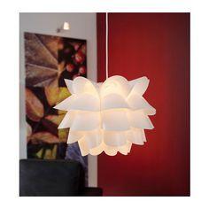 IKEA - KNAPPA, Pendant lamp with LED bulb, white, Gives a soft mood light. 2 ceiling hooks are included. Ceiling Pendant, Ceiling Lights, Pendant Lamps, Brass Pendant, Round Pendant, Pendant Lights, Crystal Pendant, Mood Lamps, Deco Luminaire
