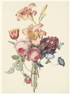 Henriette Geertruida Knip, Bouquet, 1820