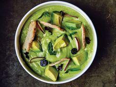 Spring Vegetable Soup - Avocado Soup