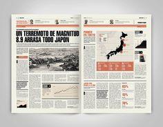 Newspaper Design_01 on Editorial Design Served