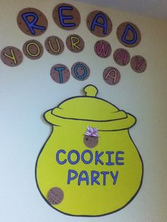 Looking for a reading incentive program? Check out this Cookie Party program for school age children. Great idea for summer reading, too!