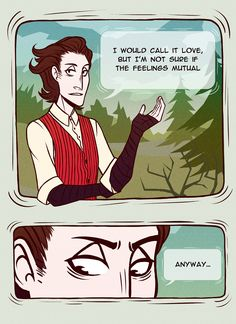 don't starve willow/wilson | Tumblr