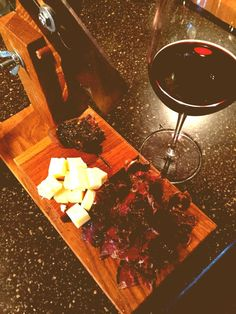 Your Favorite Shiraz Wine & A Slab of Original Jerky...the Perfect Combination!