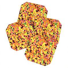 Rosie Brown Carnaval Coaster Set | DENY Designs Home Accessories    #coasters #barset #beverage #homedecor #art #denydesigns #rosiebrown