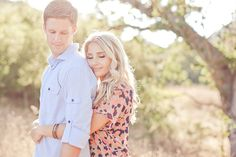 Paramount Ranch Engagement Shoot - Inspired By This