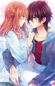 Image in Anime Couple ♥ collection by MONEY★かわいい♥ Anime Angel, Anime Kiss, Amnesia Anime, Amnesia Shin, Manga Couple, Anime Love Couple, Art Manga, Manga Anime, Art Fairy Tail