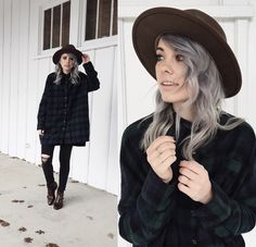 Mary Ellen Skye - Modern Vice Boots, Madewell Jeans - Vinnie   LOOKBOOK