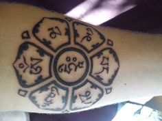 """Om Mani Padme Hum"" tattoo... the jewel in the lotus."