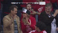 High Fives at a Hockey Game - Imgur