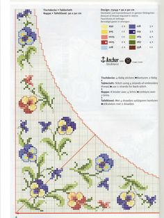 This Pin was discovered by naz Cross Stitch Pillow, Cross Stitch Bookmarks, Cross Stitch Needles, Cute Cross Stitch, Cross Stitch Borders, Cross Stitch Flowers, Cross Stitch Charts, Cross Stitch Designs, Cross Stitching