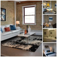 Staged downtown loft in Winnipeg, MB .staged by Maximum Impact Plus Downtown Lofts, Stage, Home Decor, Decoration Home, Room Decor, Home Interior Design, Home Decoration, Interior Design