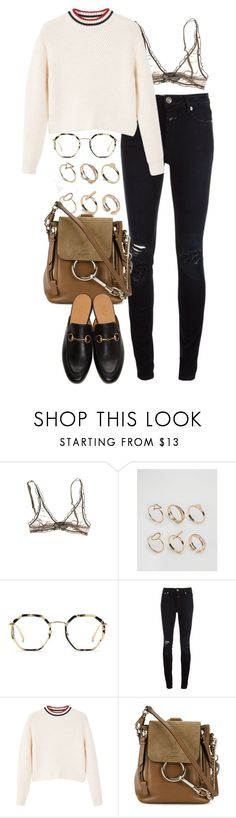 """""""Untitled #10897"""" by nikka-phillips ❤ liked on Polyvore featuring ALDO, Bailey Nelson, Closed, MANGO, Chloé and Gucci"""