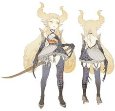 Share this artwork to let more people see Character Design Girl, Character Design References, Character Design Inspiration, Character Concept, Character Art, Dragon Nest, Game Concept Art, Creature Design, Character Illustration