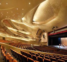China. Guangzhou Opera House // Architect: Zaha Hadid