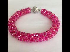 YouTube Hand Bracelet, Bracelet Crafts, Bracelet Making, Handmade Bracelets, Handmade Jewelry, Beaded Bracelets, Beaded Jewelry Patterns, Beading Patterns, Bead Jewellery