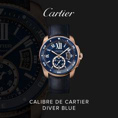 #calibredecartier #diver #blu #cartier #orologi #curnis #orologeria #watches