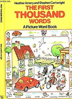The First Thousand Words: A Picture Word Book (Usborne First 1000 Words)