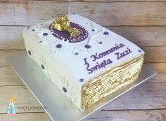 Holy communion  book cake :)