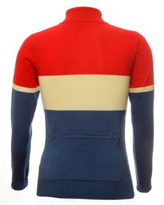 merino wool cycling jersey from Jura Cycle Clothing, this fantastic retro cycling jersey has a rear zip pocket. Cycling Clothing, Cycling Outfit, Cycling Jerseys, Clothing Ideas, Mountain Biking, Merino Wool, Bicycle, Kit, Pocket