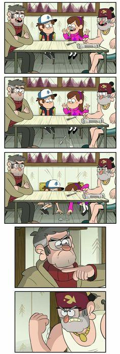 Ideas funny cartoons humor gravity falls for 2019 Gravity Falls Funny, Gravity Falls Anime, Gravity Falls Comics, Gravity Falls Secrets, Monster Falls, Gavity Falls, Desenhos Cartoon Network, Adventure Time, Desenhos Gravity Falls