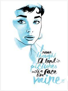 Audrey Hepburn - Ron Salas