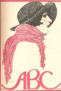 Stuart Carvalhais, ABC magazine, 1922 - cover