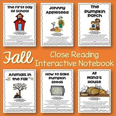 Six stories for interactive close reading. 3 fiction/3 non-fiction. Each story has 5 days of activities to keep young readers engaged and excited about digging deeper into the text!
