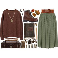 """falling leaves"" by hiddlescat on Polyvore"