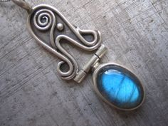 New Beginnings Antiquities Pendant with by hingedjewelry on Etsy