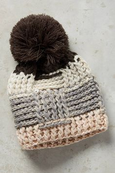 Anthropologie Pommed Lodge Beanie