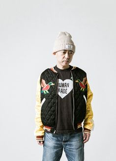 Human Made FW16.  menswear mnswr mens style mens fashion fashion style humanmade nigo campaign lookbook