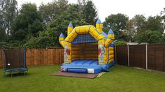Crooked camelot bouncy castle 12ft x 15ft