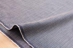 Japanese Fabric yarn dyed indigo chambray by MissMatatabi on Etsy