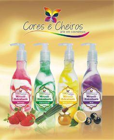 Mousses Hidratantes Cores e Cheiros