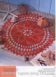 Crochet Knitting Handicraft: Crochet napkin