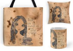 With Love for Books: The Reader Tote Bag, Mug & Pillow Giveaway