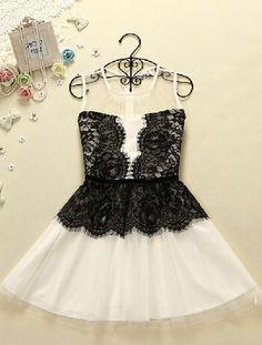 lace vest dress
