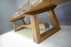 Custom Houghton Dining Table with Glass Detail