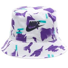 Nike Festival Bucket Hat In Purple Bucket Hat Outfit, Hat Decoration, Bad Bunny, Cowgirl Hats, Outfits With Hats, Casual Outfits, Fascinator Hats, Hats For Men, Hat Men