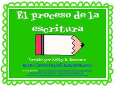 A set of 7 posters depicting the writing cycle commonly used in writer's workshop. All posters are written in Spanish. Ideal for the dual language or Spanish only classroom.Hope you enjoy them and use them frequently. And please don't forget to rate my product.Looking for other Spanish resources?Spanish Graphic Organizers (Common Core Aligned)/Organizadores grficosFinding the Main Idea/Encontrando la idea principal en textos…