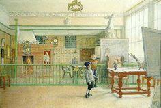 Carl Larsson (1859-1928): min atelier i sundborn-i ateljen