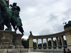 Budapest / main square / hungary, old, monuments, traveller