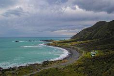 Cape Palliser Lighthouse, Cape Palliser, New Zealand