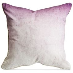 Graham & Brown Ombre Pillows ($58) ❤ liked on Polyvore featuring home, home decor, throw pillows, mulberry ombre, blue throw pillows, blue toss pillows, blue home decor and blue accent pillows