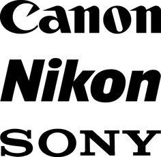 Typographic logo examples