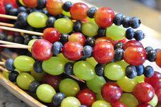 Grape & Berry Fruit Kabobs