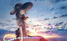 """Little Tenshi plz :) - """"/c/ - Anime/Cute"""" is imageboard for cute and moe anime images. C Anime, Anime Art, Anime Girls, Cute Anime Girl Wallpaper, Mermaid Melody, Anime Scenery, Anime Style, Anime Characters, Illustration"""