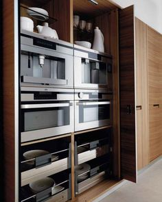 Hide everything kitchen storage. Elm kitchen CREDENZA - TONCELLI CUCINE