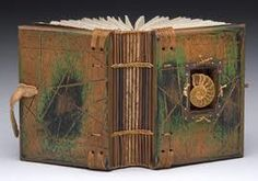 book binding with wood - Google Search