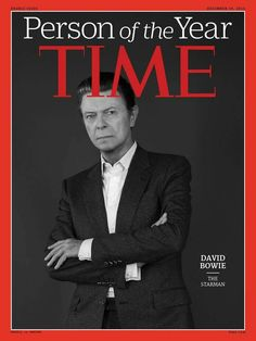 David Bowie on cover of Time Magazine. David Bowie, Bowie Starman, Bowie Blackstar, The Thin White Duke, Time Magazine, Magazine Covers, Major Tom, Thing 1, Ziggy Stardust